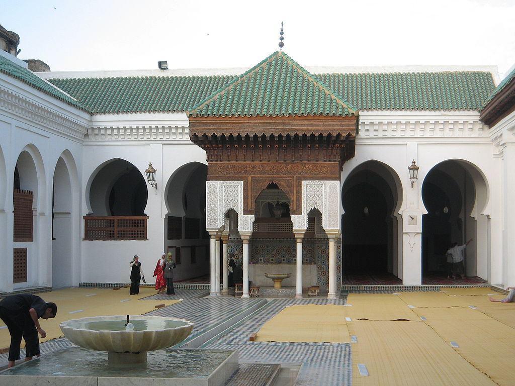 تصویر نوسازی کهن ترین کتابخانه اسلامی جهان در مراکش