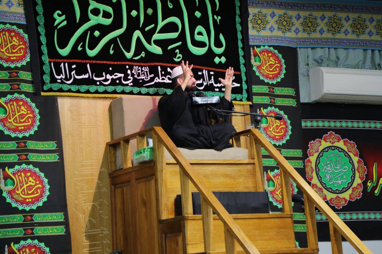 تصویر گزارش تصویری ـ عزاداری شیعیان در آدلایدِ استرالیا به مناسبت شهادت حضرت زهرا سلام الله علیها