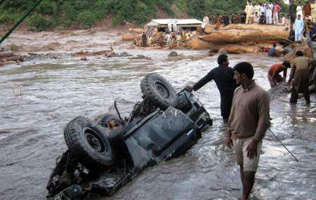 تصویر افزايش تلفات بارندگى هاى اخير در پاكستان