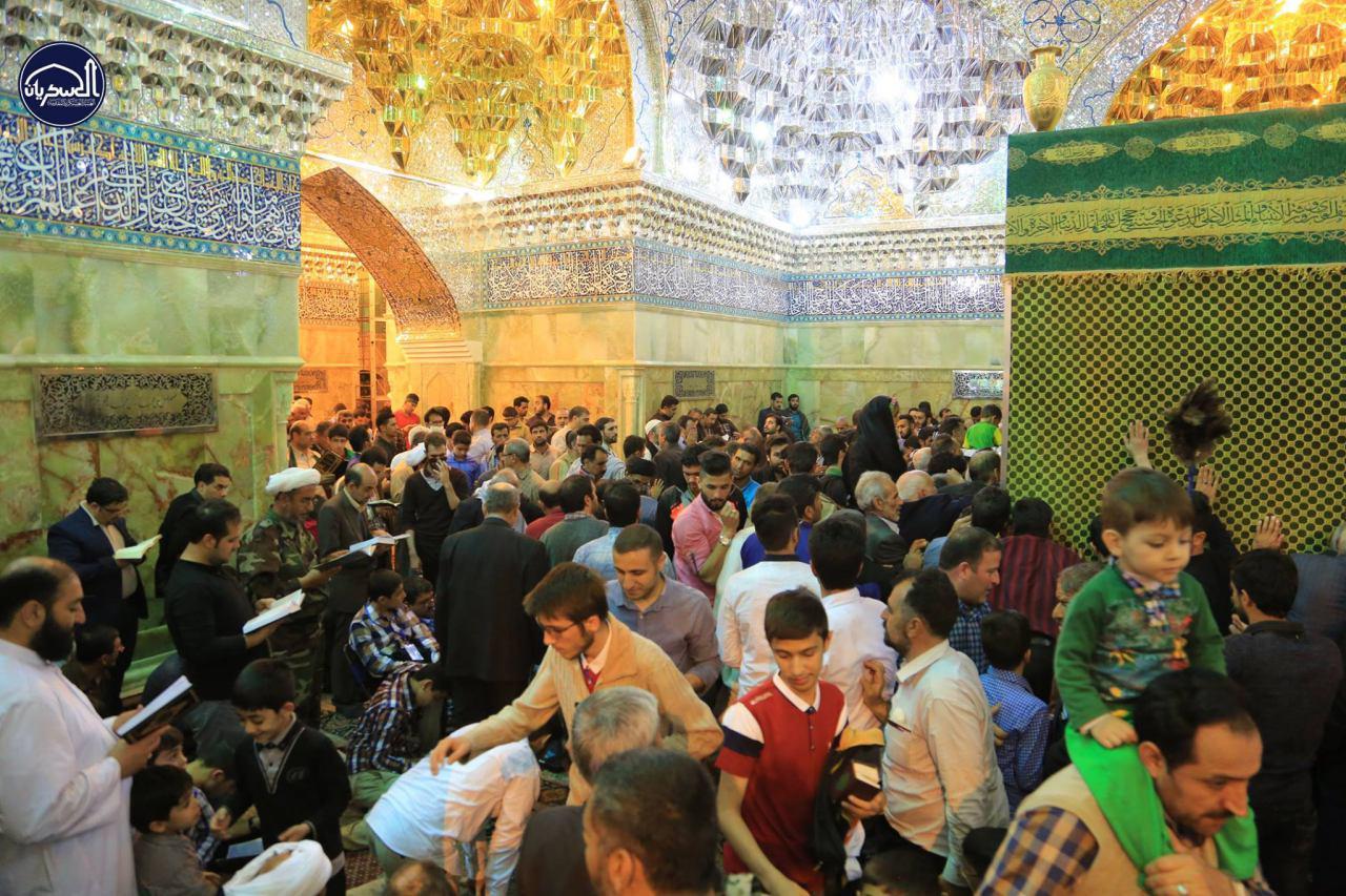 تصویر گزارش تصویری ـ سامرا/حضور زائران ایرانی در حرم مطهر عسکریین