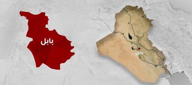 تصویر انفجار در استان بابل عراق