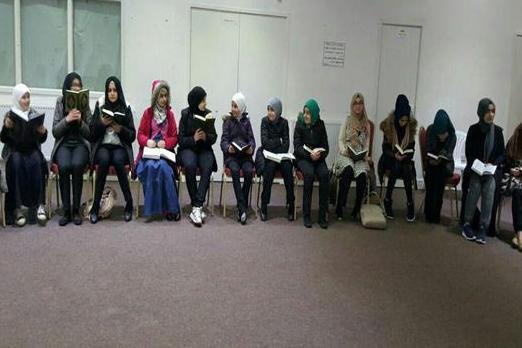 تصویر برگزاری دوره قرآنی ویژه دختران در لندن