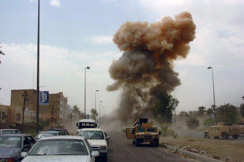 تصویر حمله تروریستی در شهر شیعه نشین ناصریه