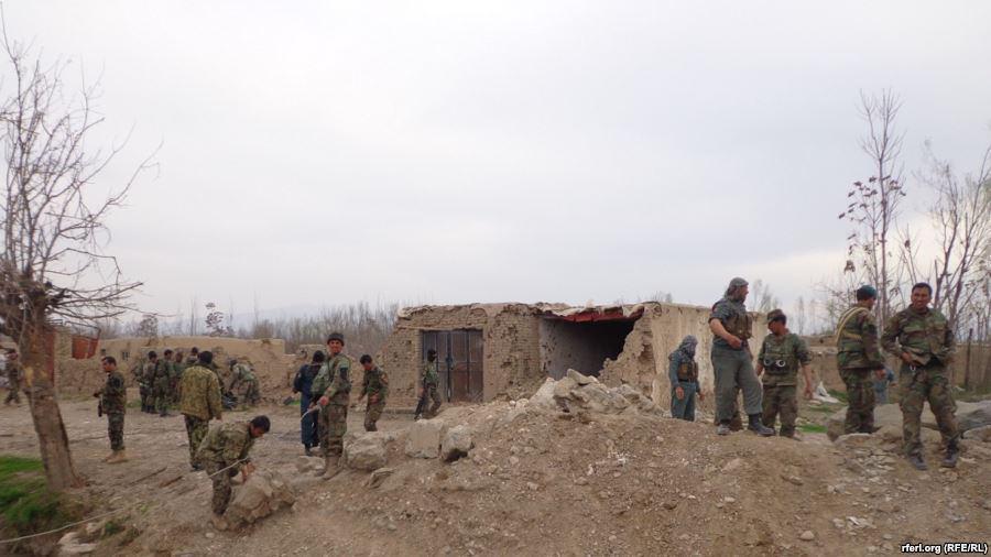 تصویر سقوط مجدد شهرستان «دند شهابالدین» در شمال افغانستان