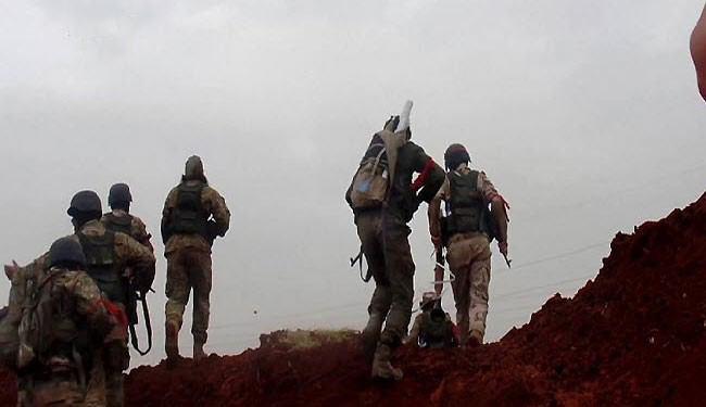 """تصویر آزادسازى شهرک استراتژیک """"العیس"""" در جنوب حلب"""