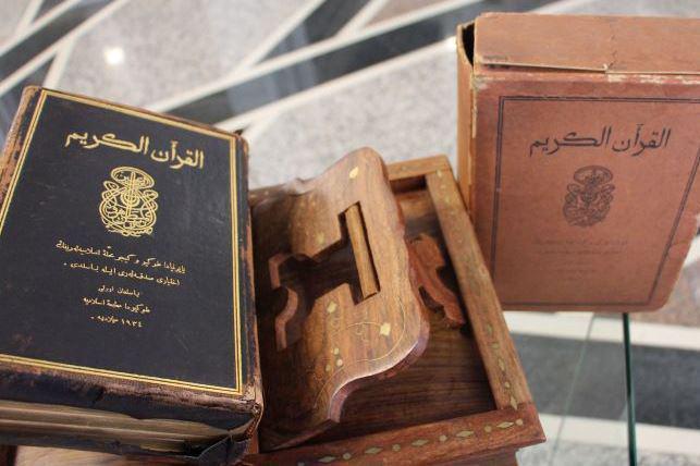 تصویر انتقال نخستین قرآن چاپی در ژاپن به تاتارستان