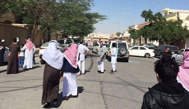 تصویر بازداشت سه جوان شيعه در شهر دمام عربستان