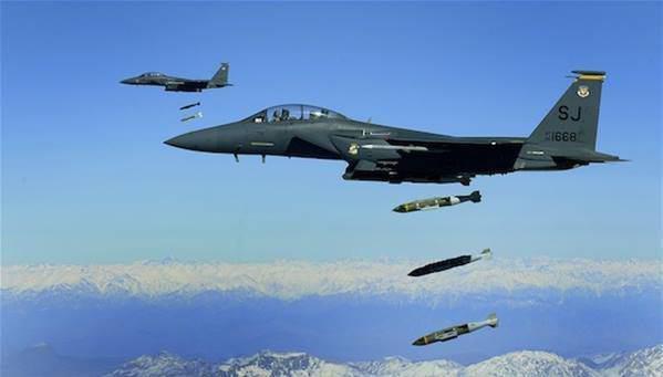 تصویر گزارش حقوق بشر سوریه از شمار کشته شدگان غير نظامى بر اثر حملات هوایی ائتلاف بین المللی
