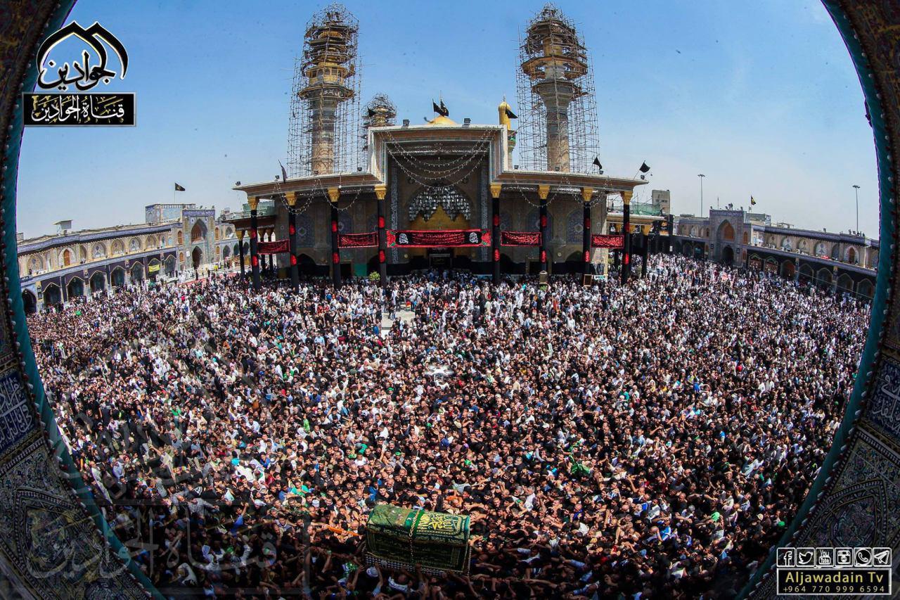 تصویر گزارش تصویری ـ خیل عزاداران کاظمی در حرم امامین جوادین علیهما السلام