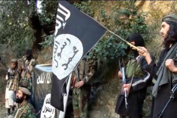تصویر حمله داعش به ولايت ننگرهار افغانستان