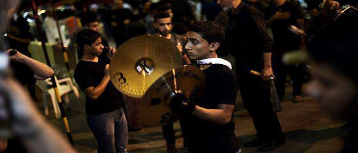 تصویر احضار روساى حسينيه هاى بحرين در آستانه شهادت امیرالمومنین علیه السلام