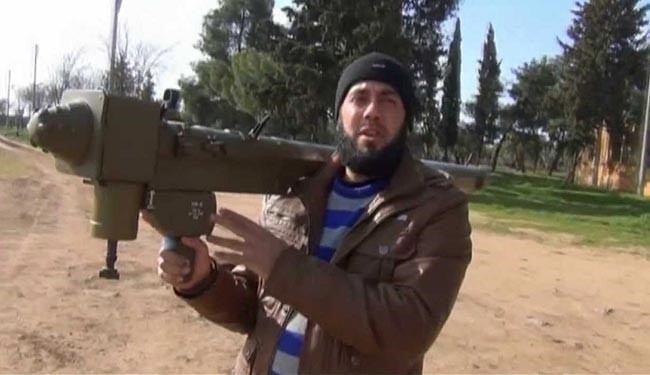 تصویر رسيدن موشک و تانکهای پیشرفته به دست سنى هاى تندرو در سوريه