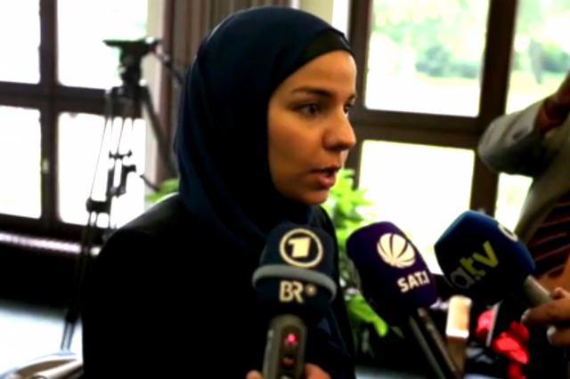 تصویر راى دادگاه آلمان به نفع زن مسلمان