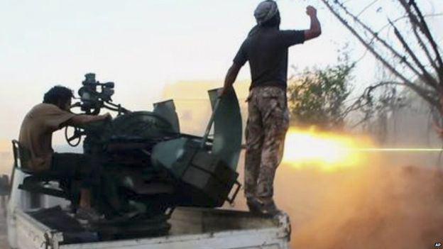 تصویر کشته و زخمی شدن 56 تروریست در حومه دمشق