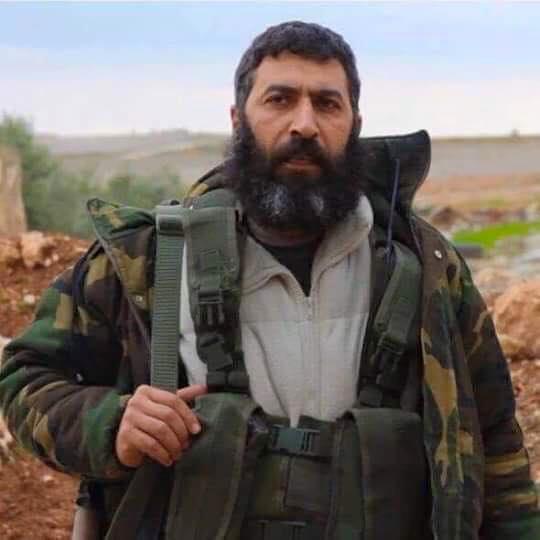 """تصویر هلاکت فرمانده ارشد گروه تروریستی """"فیلق الشام"""" در سوریه"""