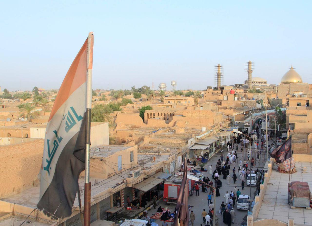 تصویر گزارش تصویری : حضور پر شور زائران در حرم امامین عسکریین علیهم السلام  در شهر سامرا