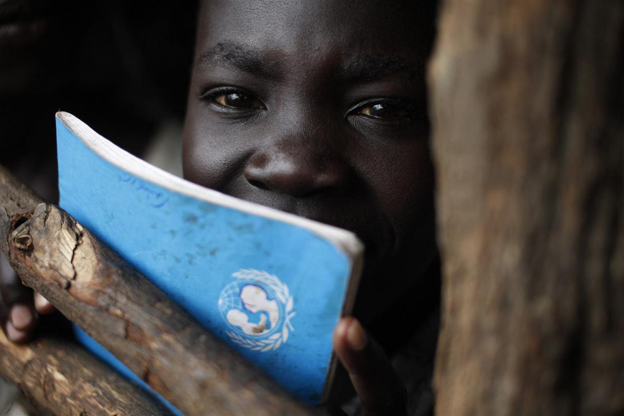 تصویر هشدار یونیسف در مورد بحران سوء تغذیه کودکان نیجریه