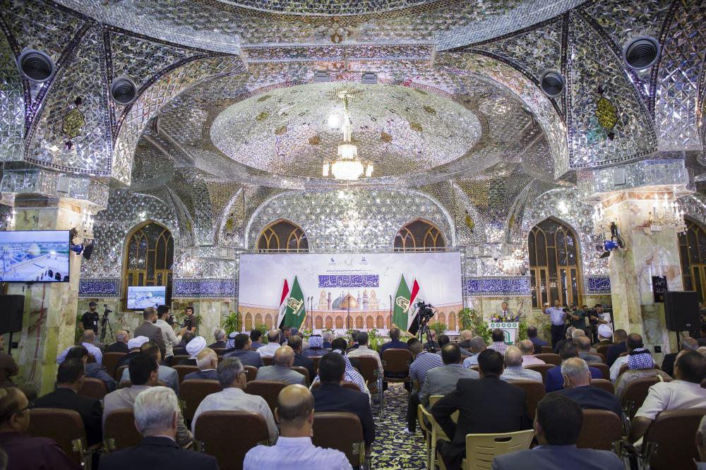 تصویر افتتاح جشنواره «السفیر» در کوفه