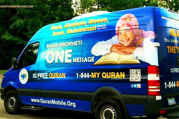 تصویر تور «مسلمانان سیار» برای معرفی اسلام در کانادا