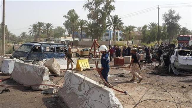 تصویر حمله انتحاری در استان دیالی عراق