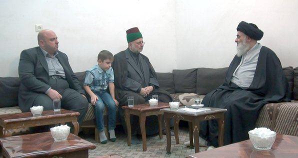 Photo of ديدار توليت آستان مقدس حسينى با آيت الله العظمى شيرازى