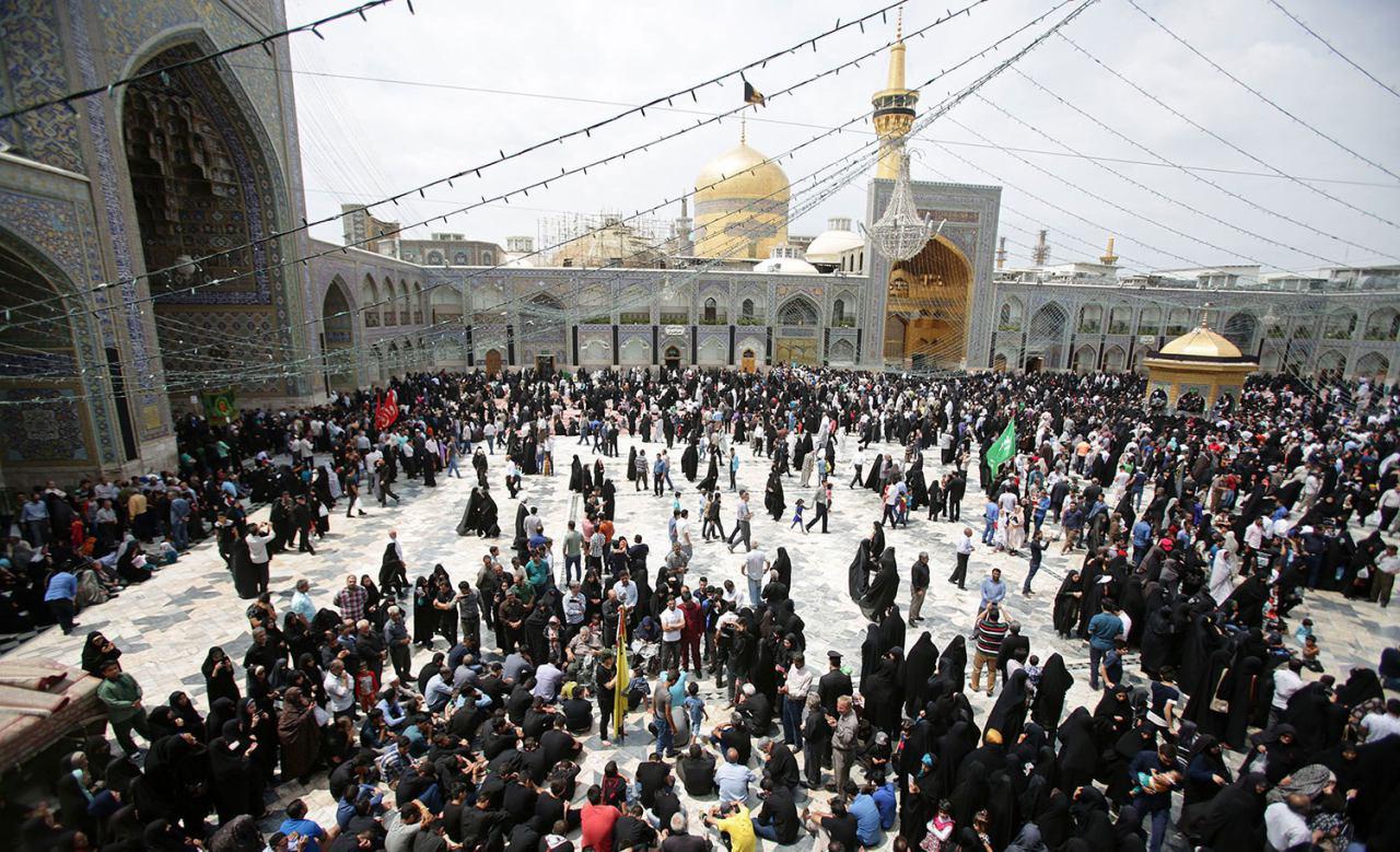 تصویر گزارش تصویری ـ دسته عزای شهادت امام صادق علیه السلام در شهر مقدس مشهد