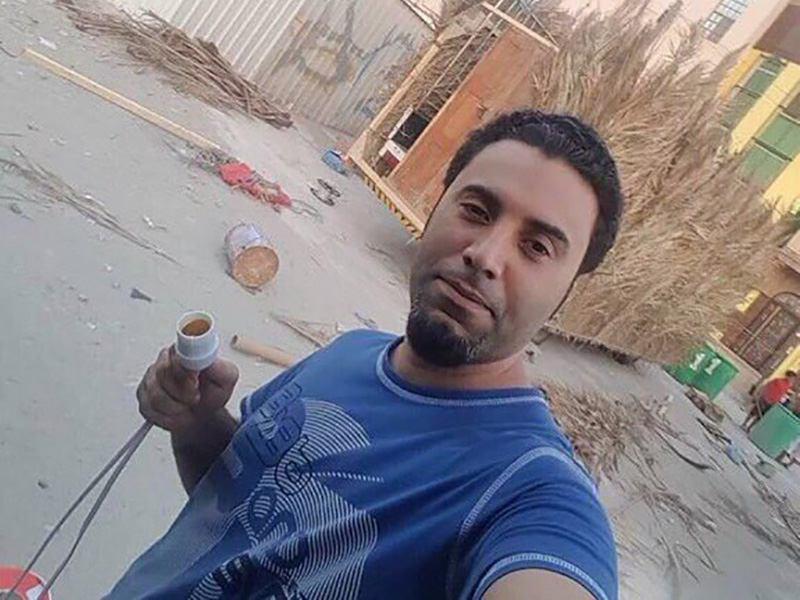 """تصویر شهادت یک جوان شيعه بحرینی در زندان """"الجو"""" بحرين"""