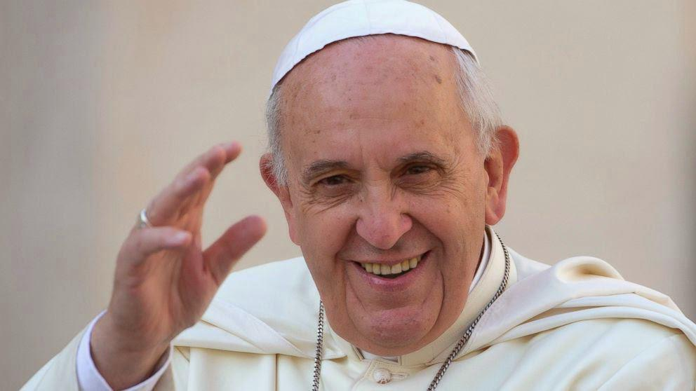 تصویر پاپ فرانسیس:نسبت دادن خشونت به اسلام خطاست