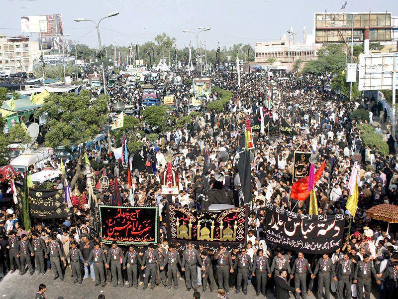 تصویر هشدار شدید یکی از علمای شیعه پاکستان نسبت به بازداشت عزاداران حسینی