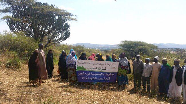 تصویر کلنگ زنى اولین شهرک و بزرگترین پروژه پیروان اهل بیت علیهم السلام در قاره افریقا