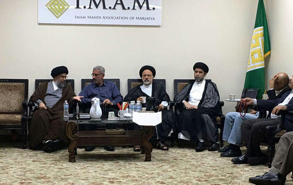 تصویر بازدید نماینده آیت الله العظمی شیرازی از مراکز مذهبی، اجتماعی و فرهنگی در کشور آمریکا