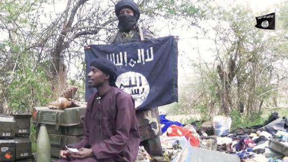 تصویر حمله  بوکوحرام به روستایی در نیجریه