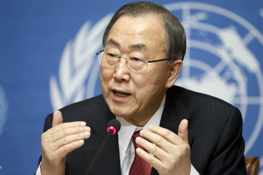 تصویر بان کی مون احترام کامل میانمار به حقوق بشر را خواستار شد