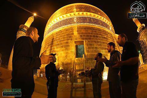 تصویر گزارش تصویری ـ مراسم تعویض پرچم حرم مطهر امامین کاظمین علیهما السلام
