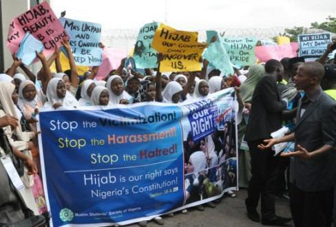 تصویر محكوميت ممنوعیت حجاب در بیمارستانهای نیجریه