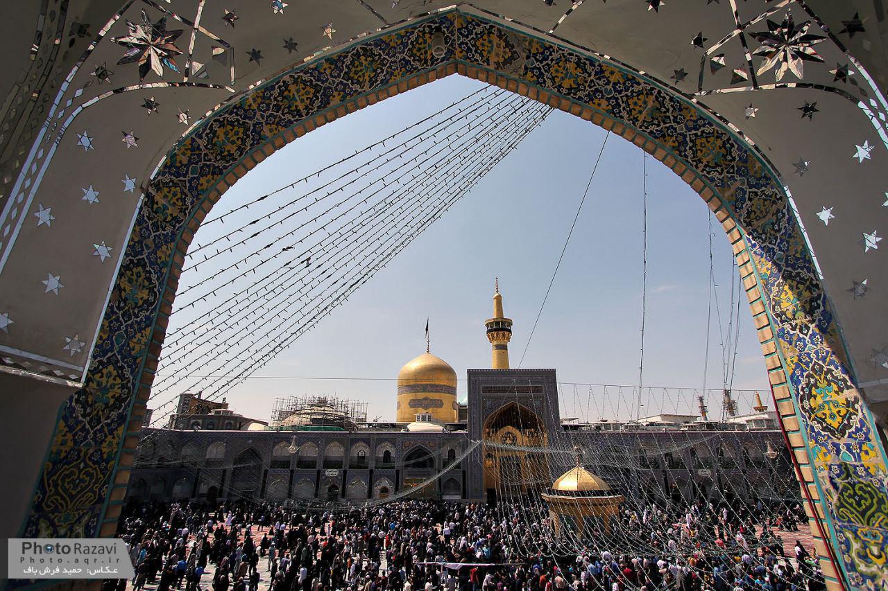 تصویر گزارش تصویری ـ مراسم روز شهادت جواد الائمه علیه السلام در شهر مقدس مشهد