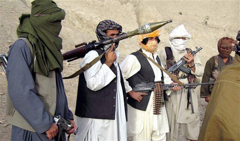 تصویر سقوط شهرستان «اومنه» در ولایت «پکتیا» توسط طالبان