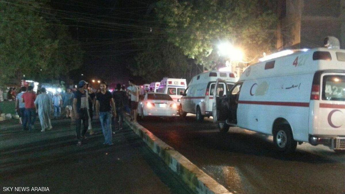 تصویر انفجار تروريستى در پايتخت عراق