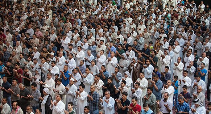Photo of اقامه پرشور و شکوه مند نماز عيد سعيد قربان و سُرور مسلمانان