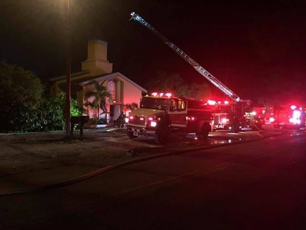 تصویر عامل آتش کشیدن عمدی مسجدی در فلوریدا دستگیر شد