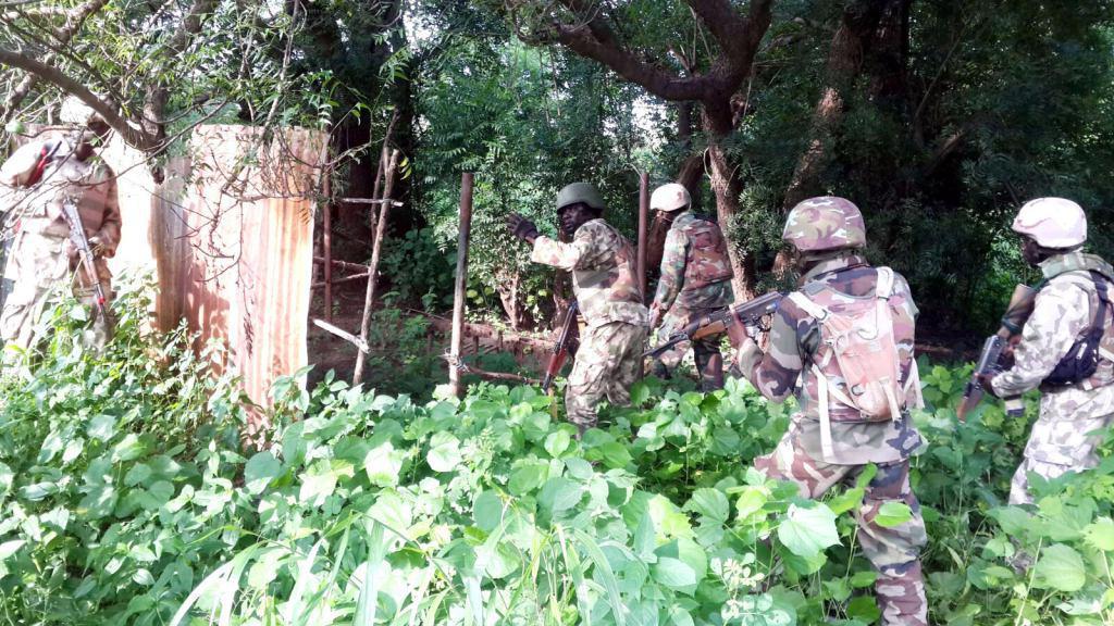 تصویر هلاکت چهار سرکرده بوکوحرام در نیجریه