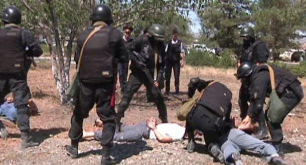 تصویر امنیت ملی قزاقستان:3 گروه افراطی بازداشت شده در قزاقستان توسط داعش هدایت میشدند