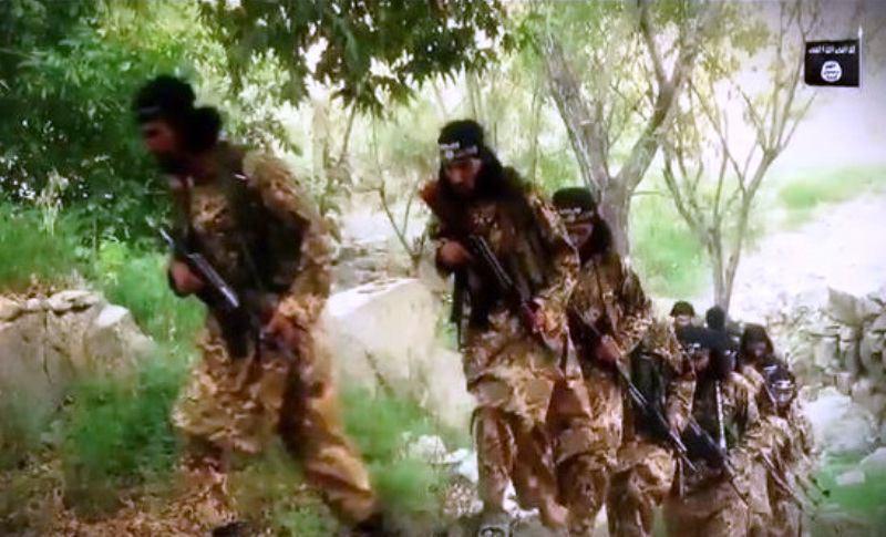 تصویر افزایش فعالیت گروه تروریستی داعش در بخشهایی از شرق افغانستان