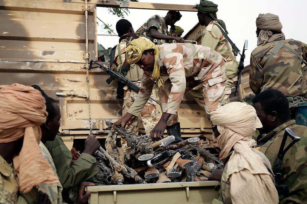 تصویر هلاکت ۳۸ تروریست بوکوحرام به دست ارتش نیجر و چاد