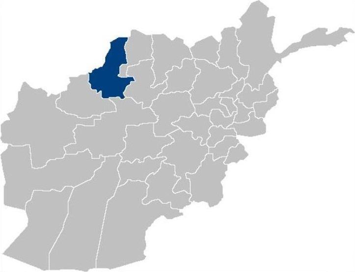 تصویر حمله طالبان به ۴ شهرستان ولایت «فاریاب» در شمال افغانستان