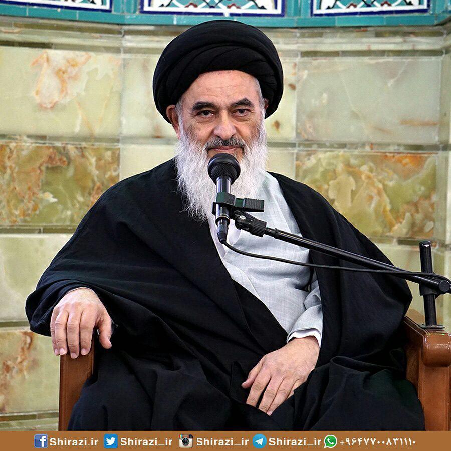 Photo of بیانات مهم حضرت آیت الله العظمی شیرازی بمناسبت عید الله الأکبر غدیر خم