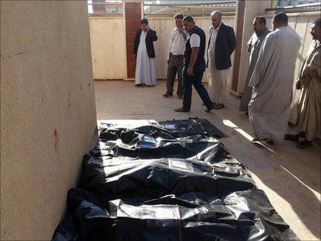 تصویر بيش از دو هزار شهيد و زخمى حاصل درگيرى هاى ماه گذشته در عراق