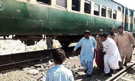 تصویر افزايش آمار تلفات انفجار تروریستی در مسیر قطار پاکستان