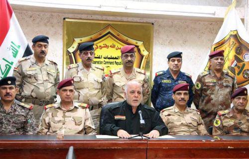 تصویر عملیات آزادسازی موصل رسما آغاز شد