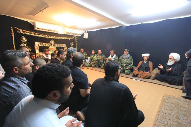 Photo of آیت الله العظمی بشير نجفى: نیروهای مردمی مفهوم ایثار را از امام حسین علیه السلام فرا گرفته اند